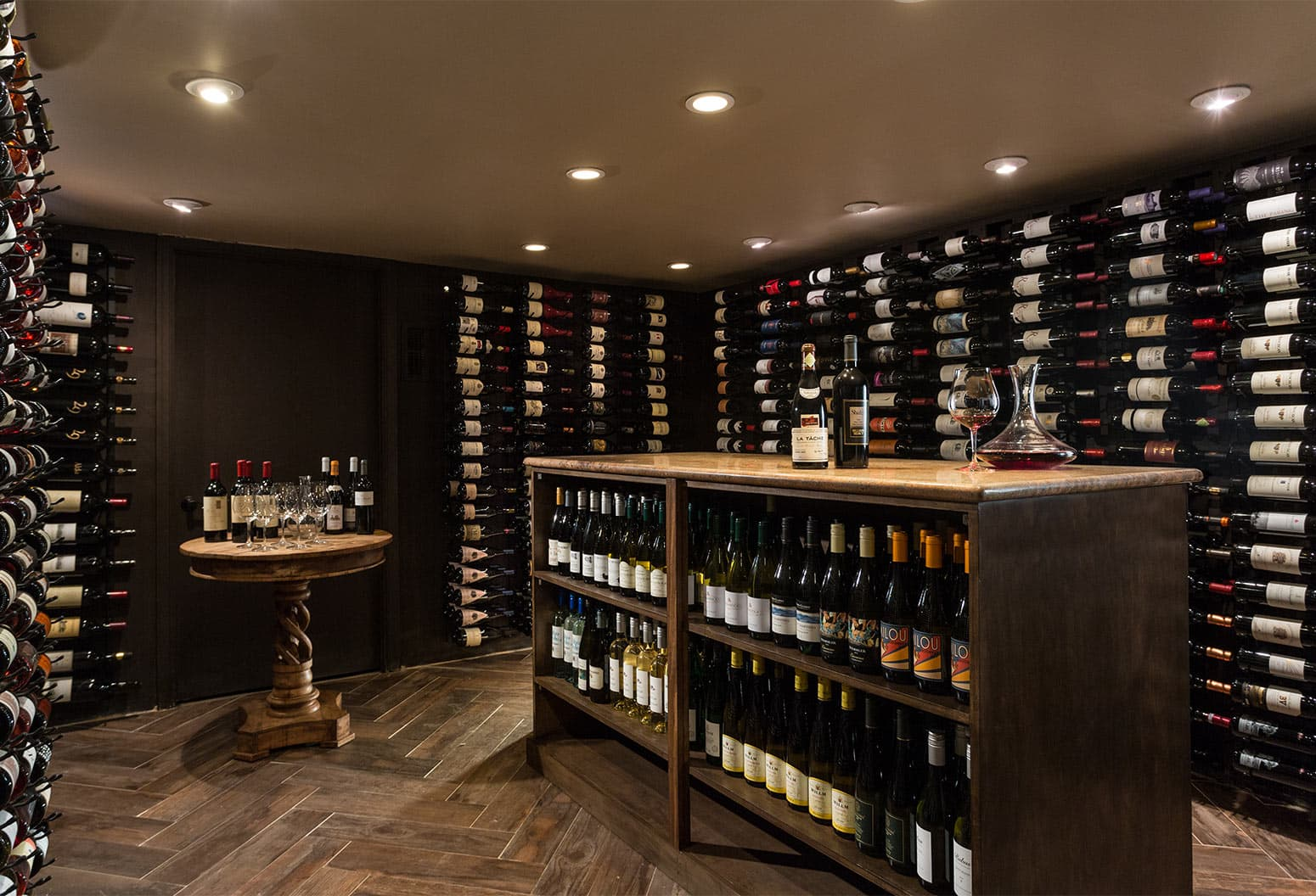 Wine Cellar full of wine